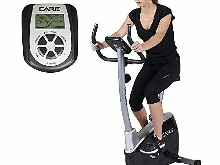 Care Fitness - Vélo d'Appartement ALPHA III - Masse d'Inertie 7kg - Freinage Ma