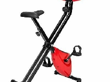 Velo d'Appartement Pliable Fitness Cardio Elliptique Ergomètre + Ordinateur LCD
