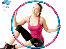 Natseekgo Hula Hoop Fitness Adulte Démontable avec Mousse, 8 Sections Professio