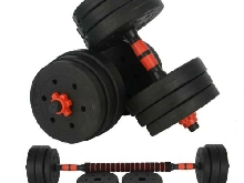 Haltère 20 Kg Fitness Dumbbell Exercice Musculation Biceps Poids Entrainement