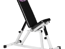 Banc d?haltérophilie incliné banc musculation pliable multifonctionnel ajustable