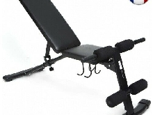 ISE 3 en 1 Banc de Musculation Pliable Multifonction Sit-up, Banc plat, incliné