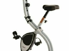 Vélo D'Appartement Bike Pliable Compact Fitness Elliptique Ecran LCD Cardio Gym