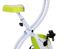 Ultrasport F-Bike Vélo d'Appartement Pliable - vert/blanc - Firness, cardio