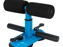 Sit Up Bar Dual Suction Cup Sit-ups Bar Assistant Device Ankle Support Blue