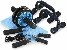 Kit Appareils 5 en 1 Complet pour Fitness Exercices Musculation