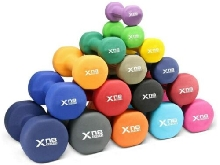 Pair of Hex Dumbbells - Neoprene Covered 1kg - 6kg Fitness Home Gym Weights