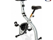 F-Bike Vélo d'appartement Cardio Training Fitness Pliable 8 Niveaux de