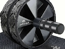 roue abdominale convertible musculation ab roller wheel fitness exercice sport