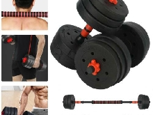 Halteres réglable 20 kg Bodybuilding CrossFit Fitness Gym Training Haltérophilie