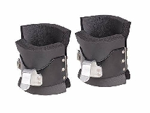 Tunturi Push/Pull-up Bottes d'inversion Gravity Boots Noires, la Paire Mixte Enf
