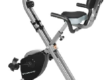 Vélo d?Appartement Pliable Elliptique Ergomètre Fitness Cardio Gym + Ordinateur