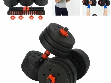 20Kg Haltère Fitness Exercice Home Gym Biceps dumbbell  Poids Entrainement Neuf