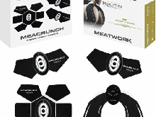 Ceinture minceur de tonification abdominale + fessiers Meacrunch + Meatwork