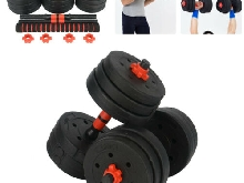 Vinyle 20Kg Haltère Fitness dumbbell exercise Home Gym Biceps Poid Entrainement