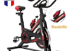KUOKEL Digital LCD Vélo d?Appartement Spinning Cardio Fitness Biking Volant 11KG