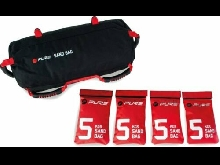Pure 2 Improve Unisex's Sandbag, Black/Red